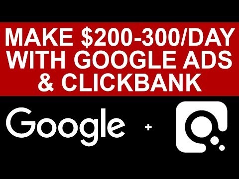 How To Make $200 - $300 Per Day With Google Ads And Clickbank (Market Research)