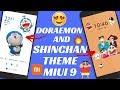 DORAEMON AND SHINCHAN THEME FOR MIUI 9 SHINCHAN THEME MIUI 9 DORAEMON THEME MIUI 9 BEST THEME mp3