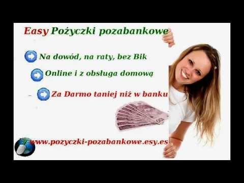 Easy - Parabanki Pożyczki Pozabnkowe Centrum Pożyczkowe  Bez Bik