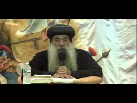 Family Meeting Bishop Kyrillos 5/24/13