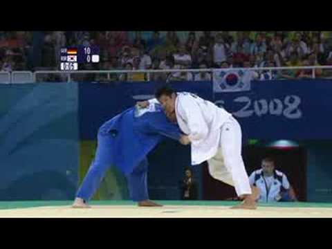 Germany vs Korea - Judo - Men's 81KG - Beijing 2008 Summer Olympic Games