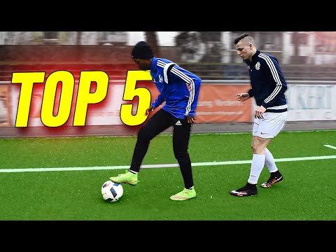 TOP 5 Ingame EURO 2016 Football Skills To Learn - Tutorial