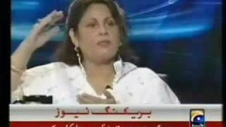 Capital Talk - Zardari flirting  with Palin - Part 1