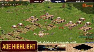 AOE HighLights - 1 trận đấu thủ nhà quá khủng khiếp mà có lẽ chỉ Chim Sẻ mới có thể làm được