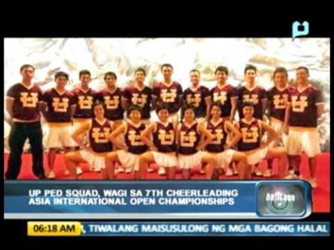 Sports Balita: UP Pep Squad, wagi sa 7th Cheerleading Asia International Open Championships