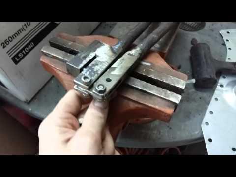 Просекатель отверстий в металле своими руками