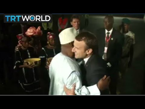 Download Mali Anti-Terrorism Force: Macron in Bamako for launch of G5 Sahel army