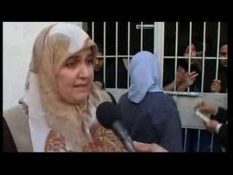 Rare footage inside Iraqi women's prison - 07 Oct 07
