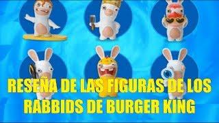 Reseña de las Figuras de los Rabbids de Burger King