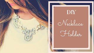 ♥ DIY Jewelry Organizer ♥ DIY Necklace Holder Tutorial!👌 by Splendid DIY