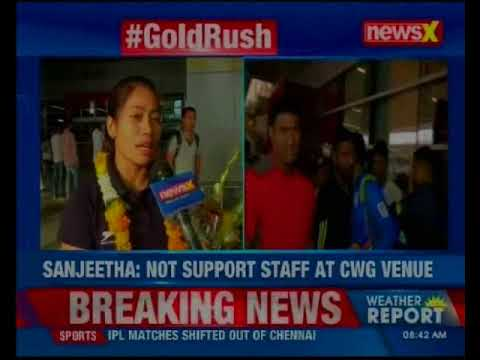 After Making Nation Proud At CWG, Weightlifters Slam Sports Authority Of India For Poor Facilities