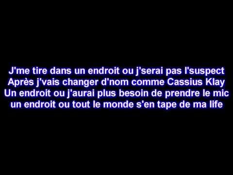 Maitre Gims - J'me tire [Paroles] [HD]