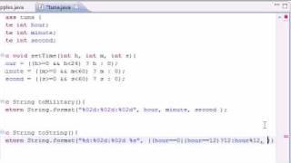 Java Programming Tutorial - 37 - Display Regular time