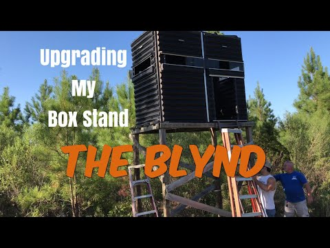 Upgrading My Blynd Box Stand