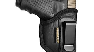 Houston Leather Holster for Glock 43 with Laser