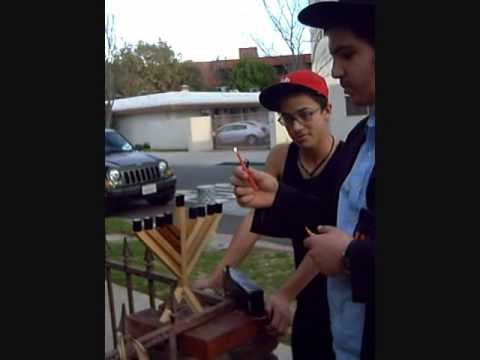 How to Light a Menorah with Chabad of BHHS - 2009