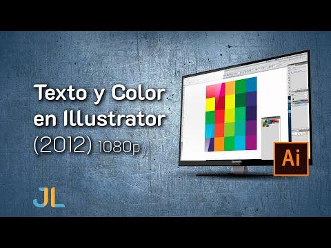Texto y Color en Illustrator thumbnail
