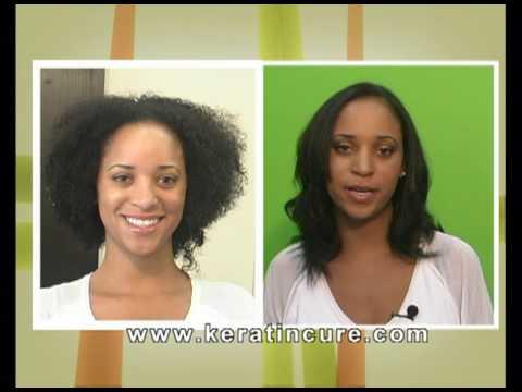 Trattamento alla cheratina per capelli ricci