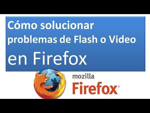 🐺Cómo solucionar problemas de Flash o Video en Firefox: Plugins 📢