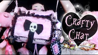 Craft With Me: The Ridiculous Pink Bag Project | Toxic Tears