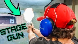 FAKE GUN PRANK!!! (IMPOSSIBLE $100 BET)