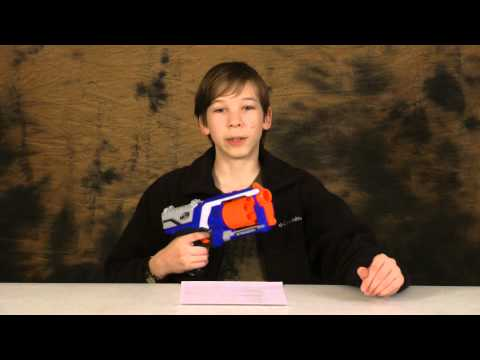 Nerf Elite Strongarm Review and Shooting