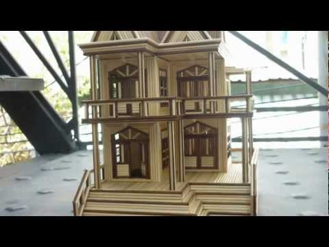 Toothpick house