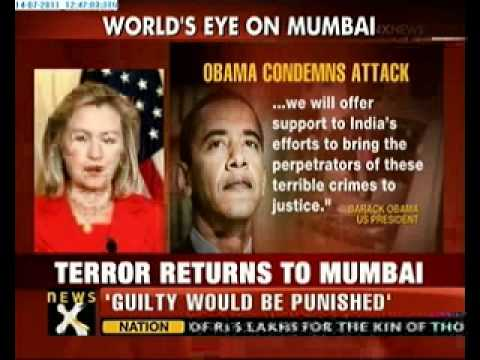 Mumbai Blasts: Obama condemns and Offers Help