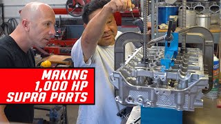 The Making of 1,000 Horsepower 2020 Supra Engine Parts