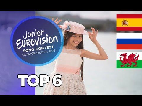 Junior Eurovision 2019 - Top 6 +