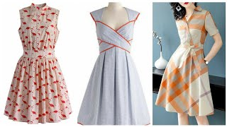 stylish Comfortable Frocks Designs For Girls