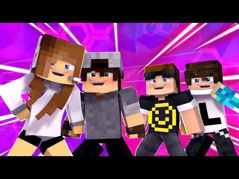 Minecraft: HARDCORE DUPLA (1/3) - O TIME BIBIDRO | BIBI | thumbnail