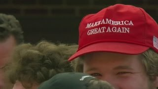 Trump Hits Campaign Trail In Eau Claire, Wis.
