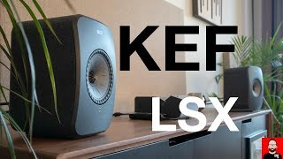 KEF's LSX is a more affordable hi-fi system in a box
