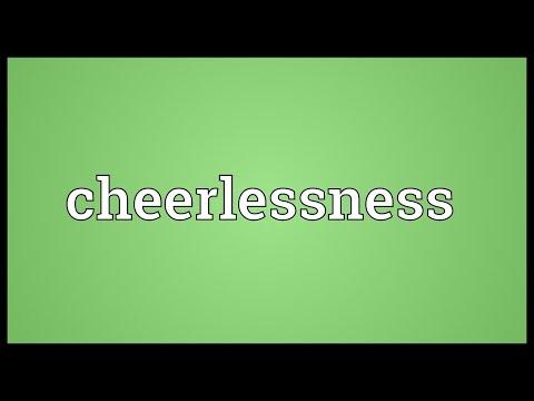 Header of cheerlessness