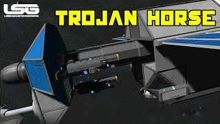 Space Engineers - Hide In Plain Sight, Trojan Horse