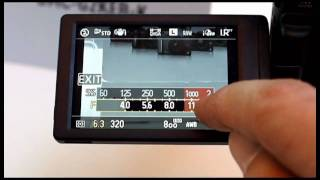 A better quick demo of the Panasonic Lumix G2 touch screen