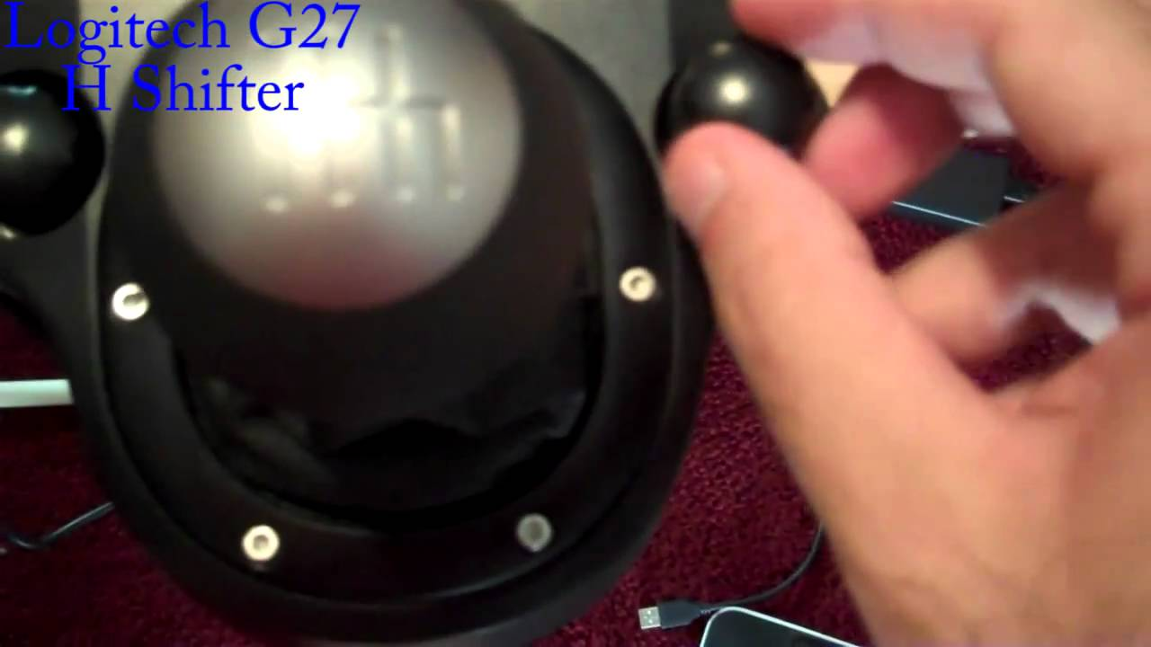 G27 Shifter Adapter Logitech G27 h Shifter And The