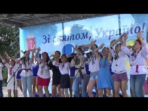 Independence Day of Ukraine at Andrew Descent, Kiev, Ukraine 24.08.2015