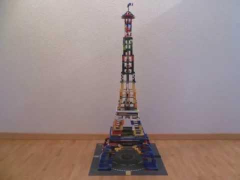 LEGO Eiffelturm YouTube