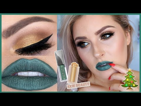 Festive Gold Makeup! ?? Chit Chat Tutorial for CHRISTMAS!