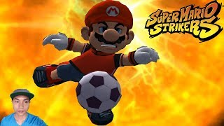 Super Mario Strikers - Round 3 Team Mario, Hammer Bro Vs Team Wario, Koopa in Flower Cup
