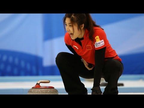 CURLING: CHN-KOR Pacific-Asia Curling Chps 2014 - Women