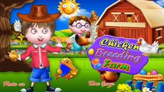 Chicken breeding farm Kids -  Learn Chicken Poultry  Farming - Fun Game play Video for Children