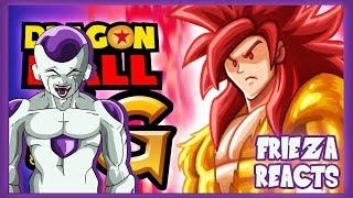 FRIEZA REACTS TO DRAGON BALL SUPER G -[ DBZ PARODY ]!