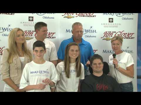 Make-A-Wish Oklahoma - Jim Glover Chevrolet - 08-25-12