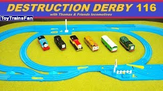 Thomas & Friends Destruction Derby #116 - Trackmaster and Plarail toy trains for kids competition