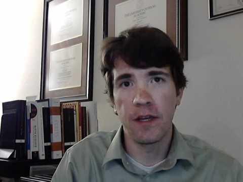 Robert McDonald, IE video