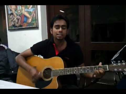 Tere bina jiya nahi jaye on guitar (fuzon)
