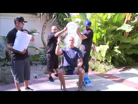 James Cameron takes the ALS #icebucketchallenge like a man